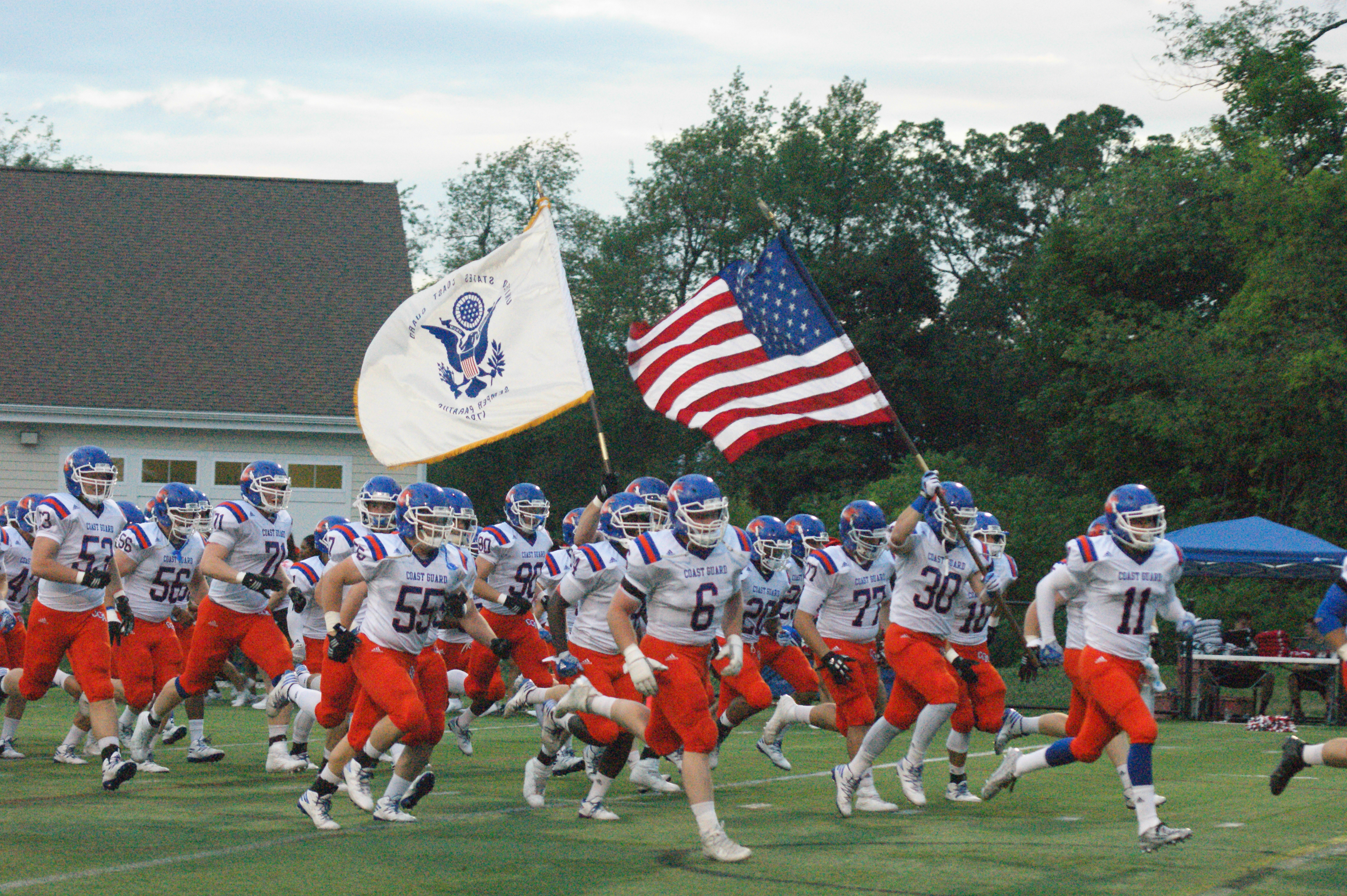 Coast Guard Academy Unveils 2017 Football Schedule Noontime Sports